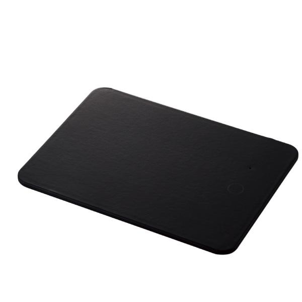 エレコム ワイヤレス充電器付き マウスパッド Qi規格 対応 5W ブラック