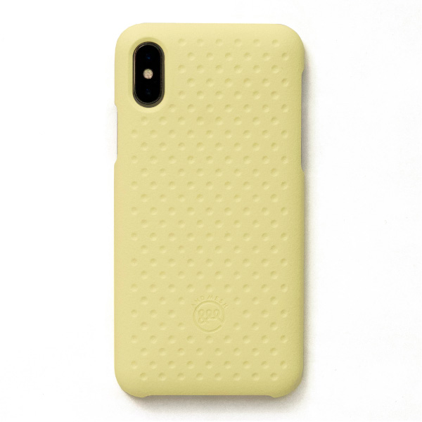 AndMesh iPhone XS / X Haptic Case Light Yellow