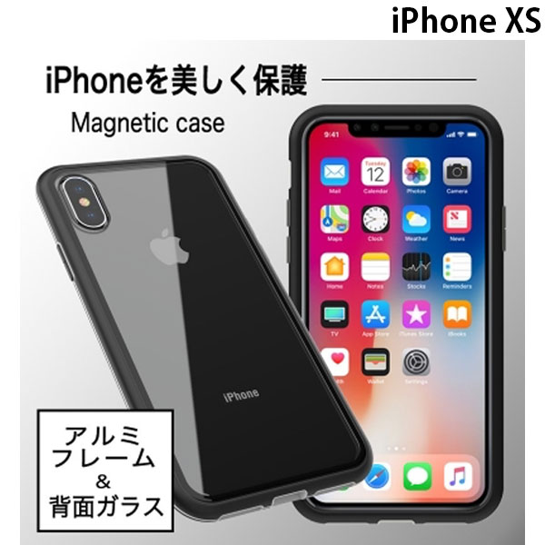 Devia iPhone XS Attract Magnetic case Black