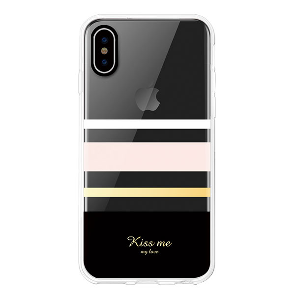 Comma iPhone XR Concise Case Black