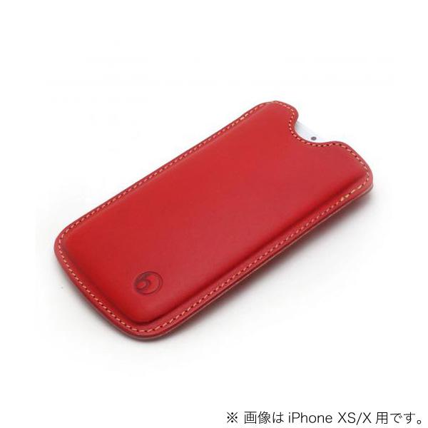 buzzhouse design iPhone 11 / XR ハンドメイドレザーケース レッド