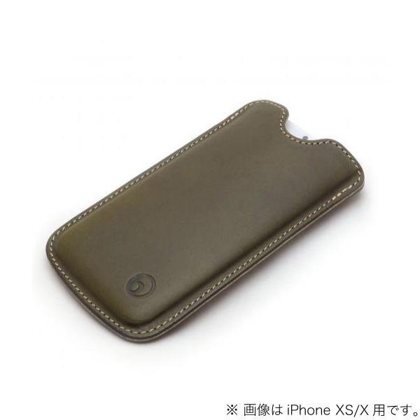 buzzhouse design iPhone 11 / XR ハンドメイドレザーケース グリーン