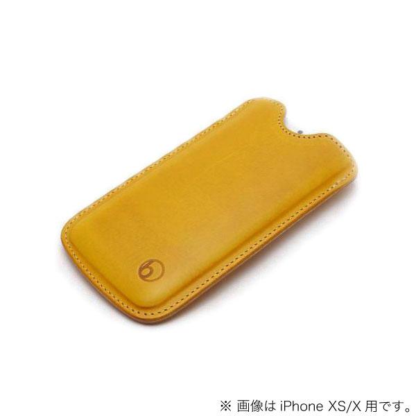 buzzhouse design iPhone 11 / XR ハンドメイドレザーケース ワイルドイエロー