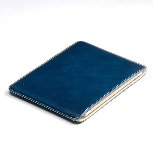 buzzhouse design 11インチ iPad Pro 第1 / 2世代 ハンドメイドレザーケース (ノーマルサイズ) ブルー