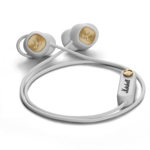 【国内正規品】 Marshall Headphones MINOR II Bluetooth ワイヤレスイヤホン White