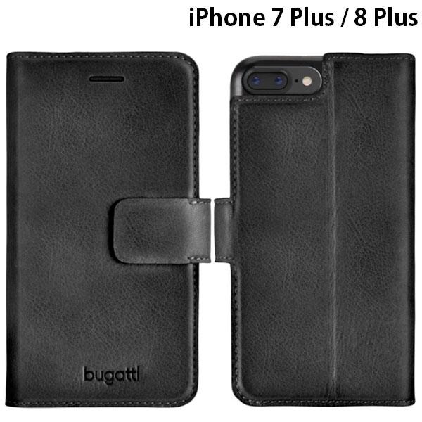bugatti iPhone 8 Plus / 7 Plus Booklet Case Belt Zurigo 本革 フルグレインレザー製ケース