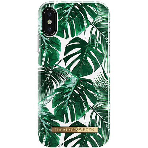 IDEAL OF SWEDEN iPhone XS / X FASHION CASE S/S 2017 MONSTERA JUNGLE