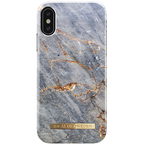 IDEAL OF SWEDEN iPhone XS / X FASHION CASE S/S 17 ROYAL GREY MARBLE