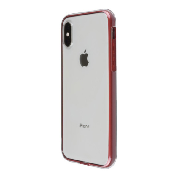 PowerSupport iPhone XS Air jacket Shockproof エアージャケット ショックプルーフ レッド