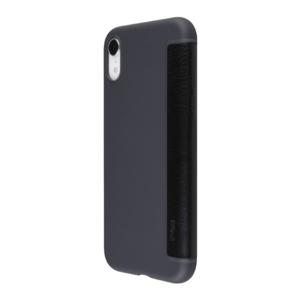 PowerSupport iPhone XS Max Air jacket Flip エアージャケット フリップ ブラック
