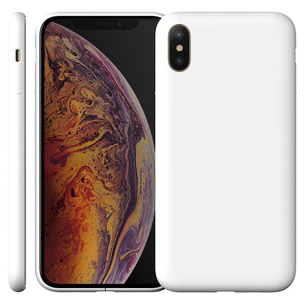 MYNUS iPhone XS CASE マットホワイト