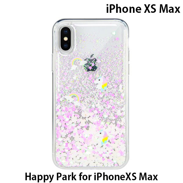 SwitchEasy iPhone XS Max Happy Park ピンク