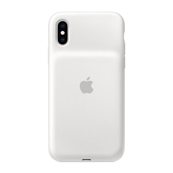 Apple iPhone XS Smart Battery Case - ホワイト