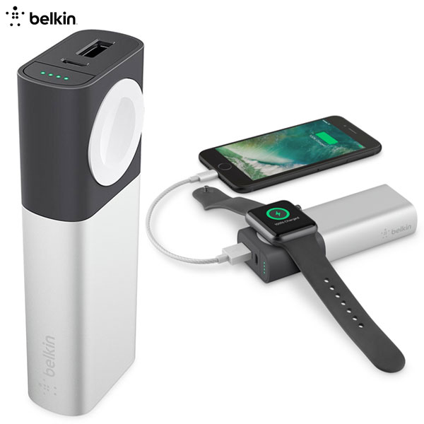BELKIN Valet Charger Power Pack 6700 mAh (Apple Watch + iPhone用)