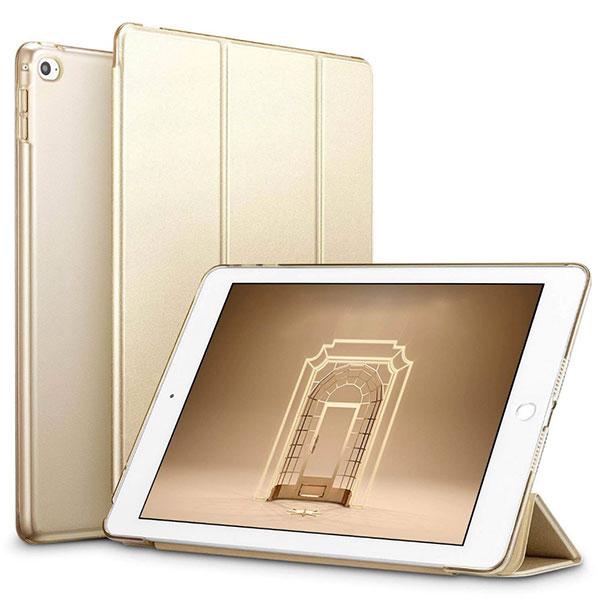 ESR 9.7インチ iPad Pro PUレザーフォリオケース Yippee Gold