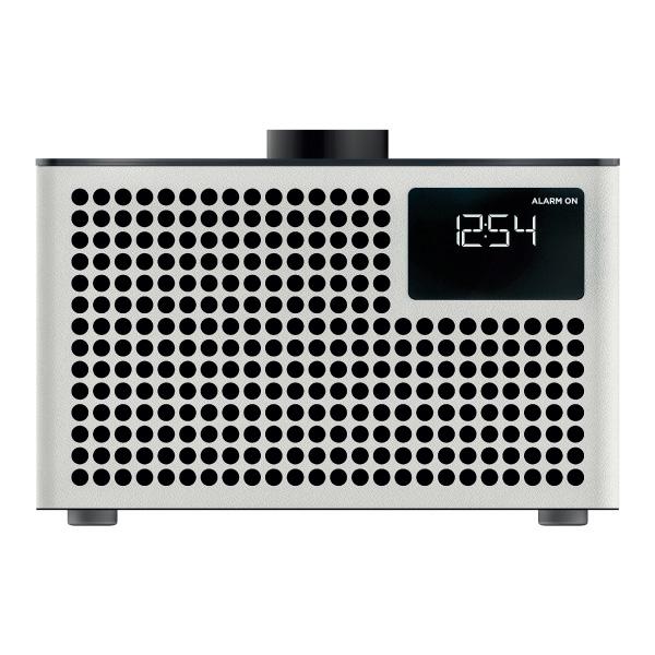 GENEVA Acustica Lounge Radio 有線 / Bluetooth ワイヤレス FMラジオ 対応 デジタルクロック付きスピーカー White