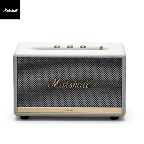 【国内正規品】 Marshall Headphones ACTON II Bluetooth スピーカー White