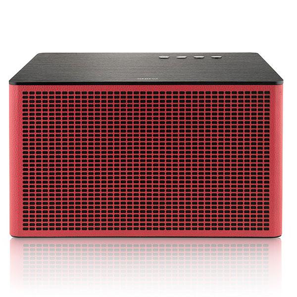 GENEVA Acustica Lounge 有線 / Bluetooth ワイヤレススピーカー Red