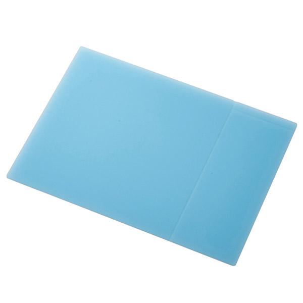 エレコム メモエリア付き シリコンマウスパッド XLサイズ ブルー