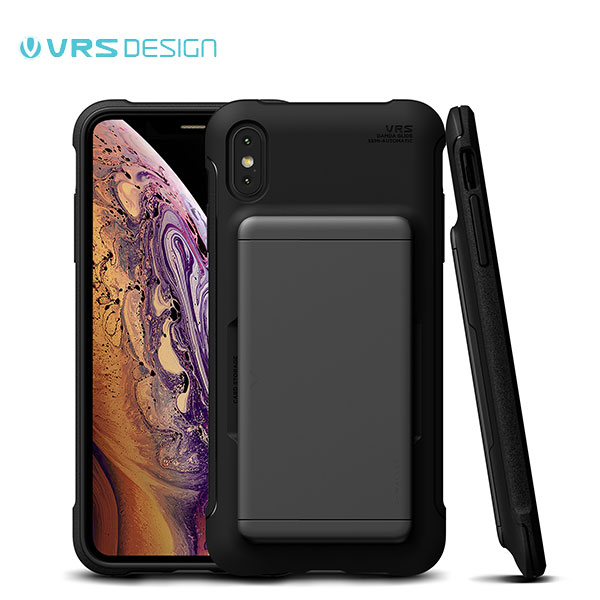 VRS DESIGN iPhone XS / X Damda Glide Shield スチールシルバー
