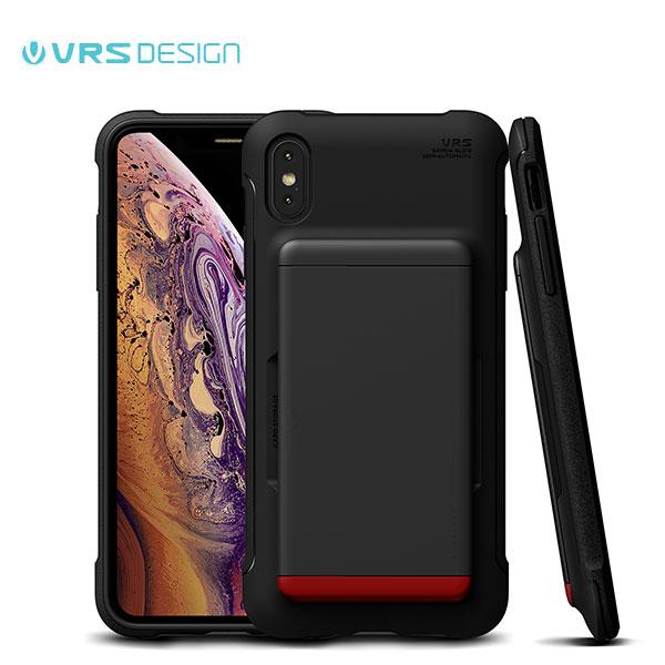 VRS DESIGN iPhone XS / X Damda Glide Shield マットブラック