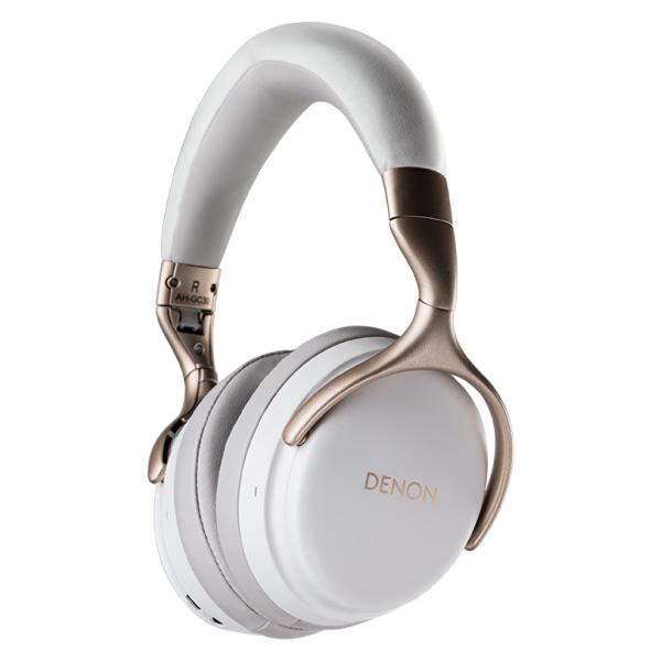 DENON AH-GC30 ワイヤレス ノイズキャンセリングヘッドホン ホワイト
