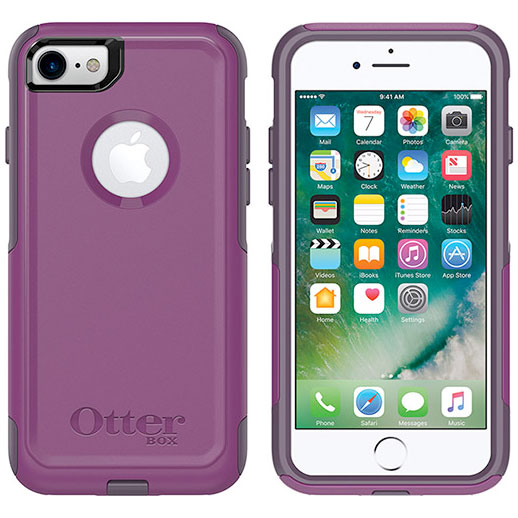 OtterBox iPhone 8 / 7 Commuter Series Plum Way