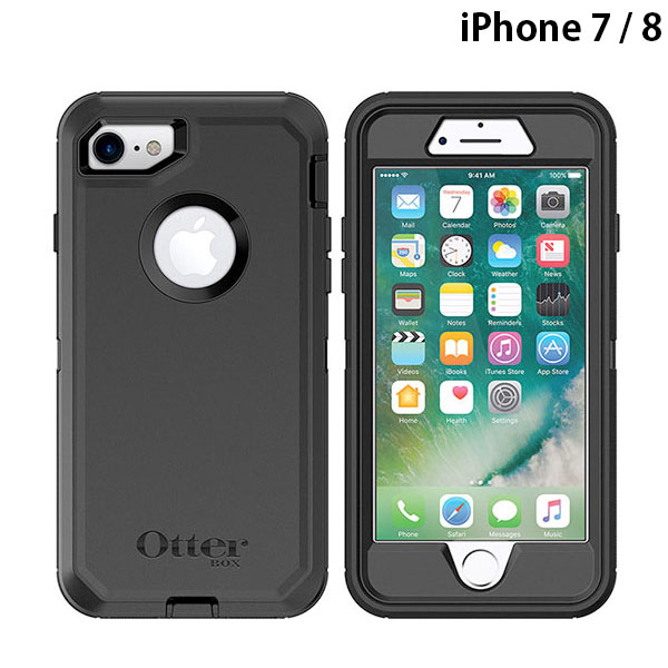 OtterBox iPhone 8 / 7 Defender Black