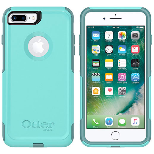 OtterBox iPhone 8 Plus / 7 Plus Commuter Series Aqua Mint Way
