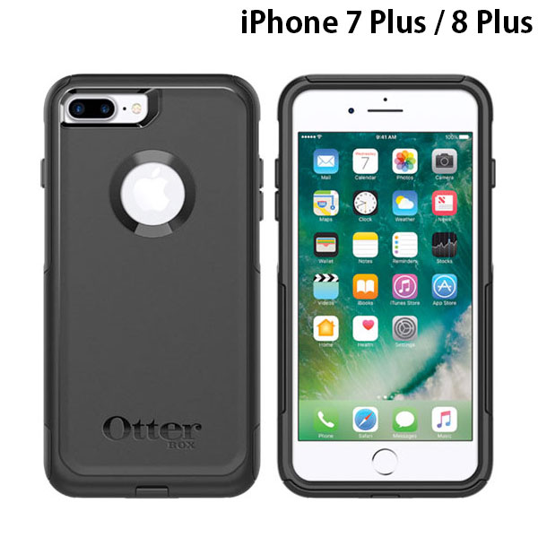 OtterBox iPhone 8 Plus / 7 Plus Commuter Series Black
