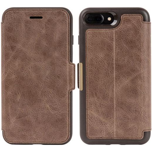 OtterBox iPhone 8 Plus / 7 Plus Leather Folio Espresso