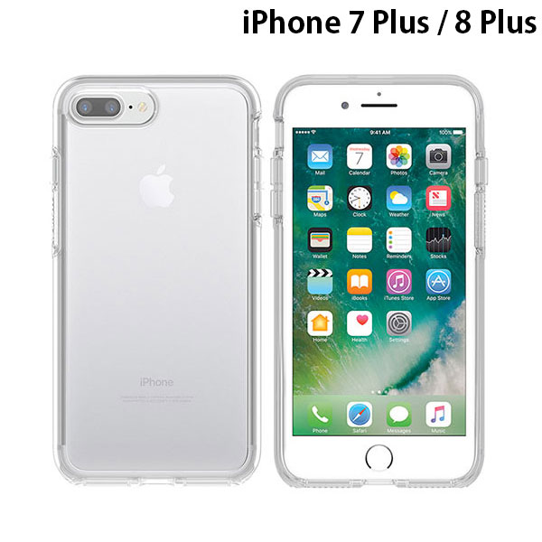 OtterBox iPhone 8 Plus / 7 Plus Symmetry Clear Series Clear