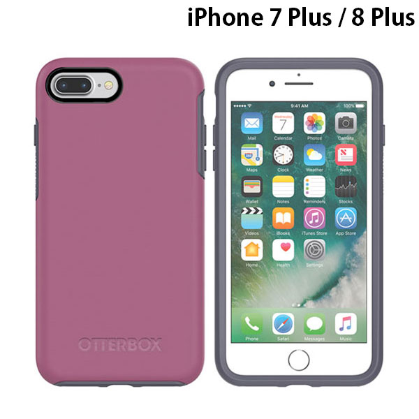 OtterBox iPhone 8 Plus / 7 Plus Symmetry Series Mix Berry Jam
