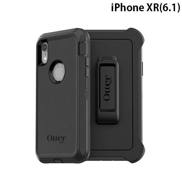 OtterBox iPhone XR DEFENDER BLACK