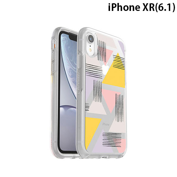 OtterBox iPhone XR SYMMETRY CLEAR LOVE TRIANGLE