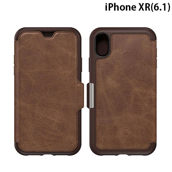 OtterBox iPhone XR Symmetry LEATHER ESPRESSO