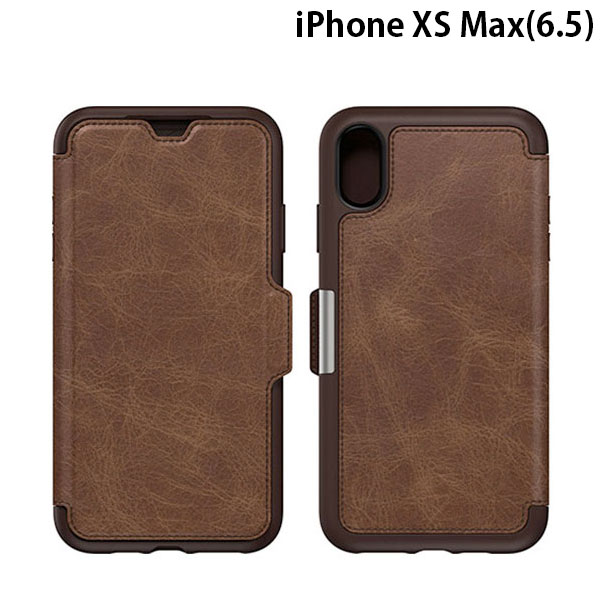 OtterBox iPhone XS Max Symmetry LEATHER ESPRESSO