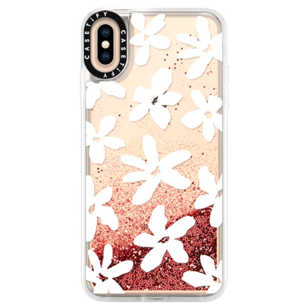 Casetify iPhone XS Max glitter Flossy by Home-Work case