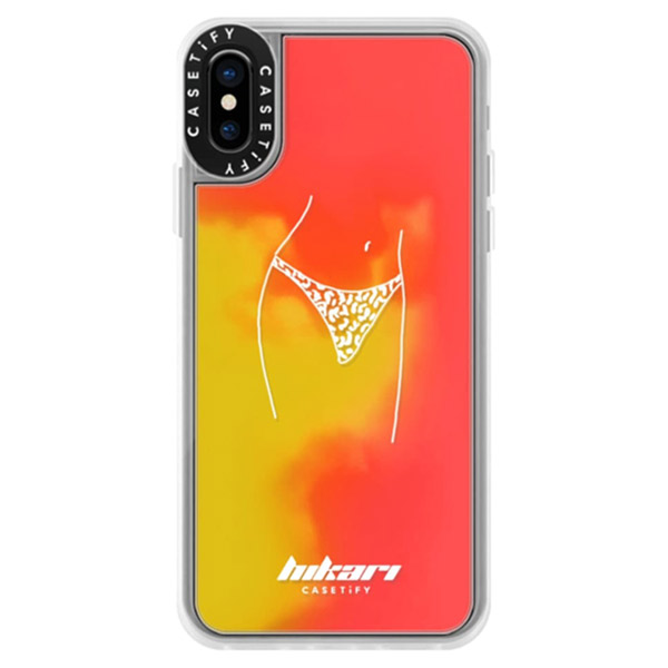 Casetify iPhone XS Dirty Jokes Collection Wild Out sand