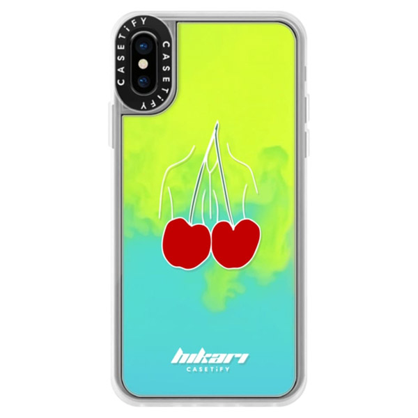 Casetify iPhone XS Dirty Jokes Collection Cherry sand