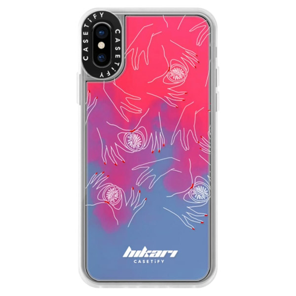 Casetify iPhone XS Dirty Jokes Collection Handy Dandy sand