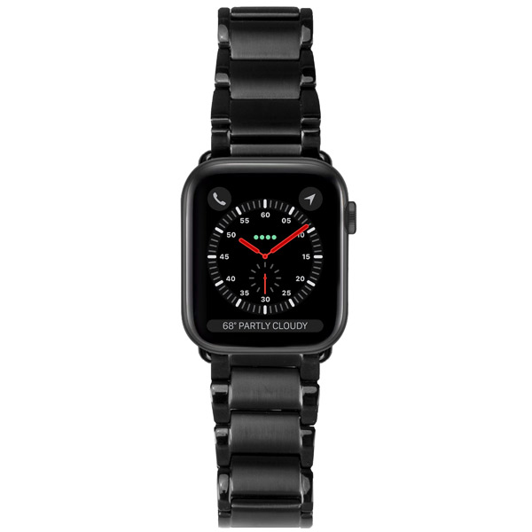 Casetify Apple Watch 42mm / 44mm Metal Link Bracelet Bands Black