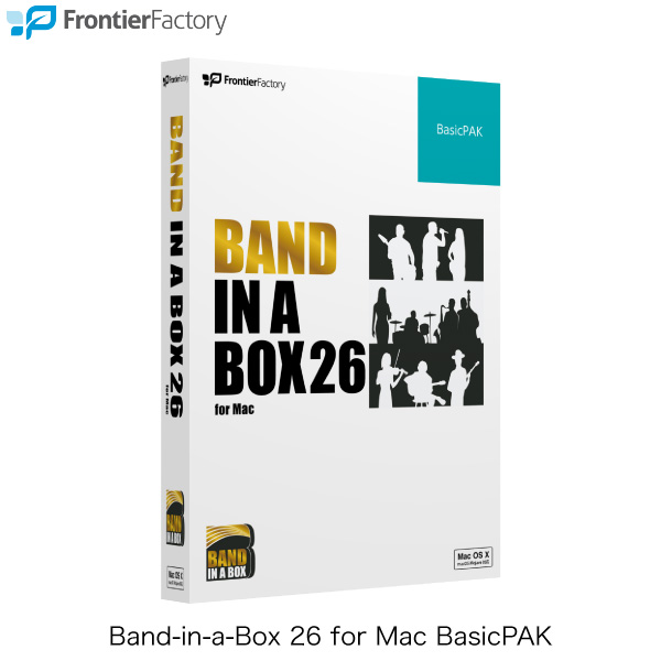 Frontier Factory Band-in-a-Box 26 for Mac BasicPAK