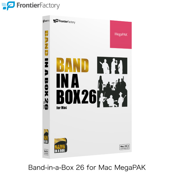 Frontier Factory Band-in-a-Box26 for Mac MegaPAK