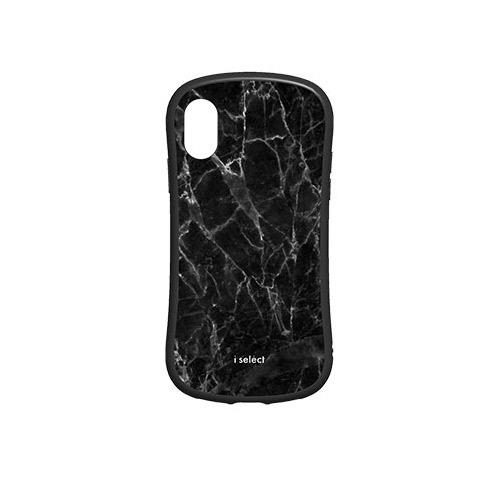 gourmandise iPhone XS / X I SELECT ブラックマーブル
