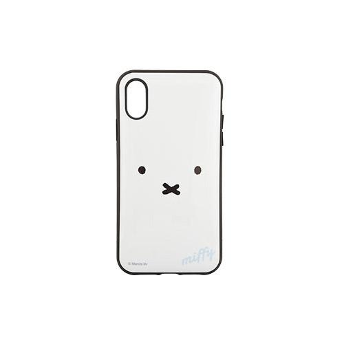 gourmandise iPhone XR IIIIfi+ (イーフィット) ミッフィー フェイス