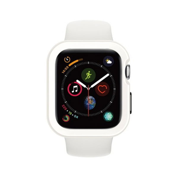 SwitchEasy Apple Watch 44mm Apple Watch Colors TPU ケース White
