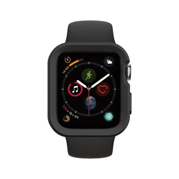 SwitchEasy Apple Watch 44mm Apple Watch Colors TPU ケース Black