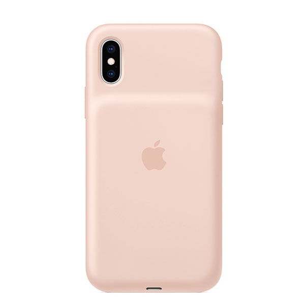 Apple iPhone XS Smart Battery Case - ピンクサンド