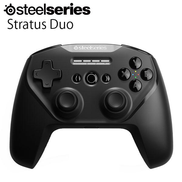 SteelSeries Stratus Duo 有線 / Bluetooth 接続 / 2.4GHz 無線 レシーバー付き コントローラー